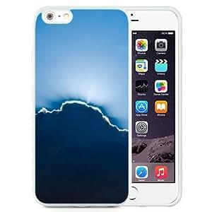 Beautiful Unique Designed iPhone 6 Plus 5.5 Inch Phone Case With Sun Through Clouds_White Phone Case