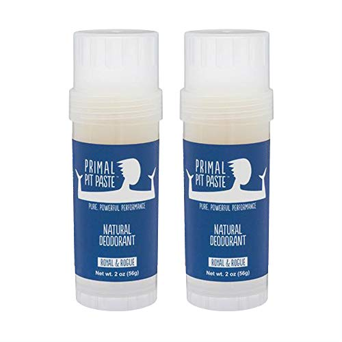 Primal Pit Paste Stick - Baking Soda - Royal & Rogue - 2 Pack
