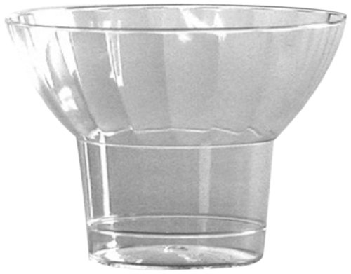 Classic Parfait Clear Rigid Plastic Parfait Cup, 5 Ounce (240-Count)