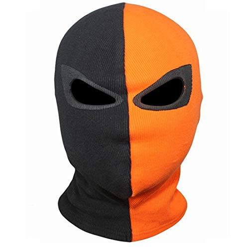 Innturt Handmade Cosplay Fabric Mask Balaclava Hood Face Double Eyes -
