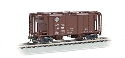 Hopper Two (Bachmann Industries PS-2 Two-Bay Covered Hopper Santa Fe Vehicle (HO Scale))