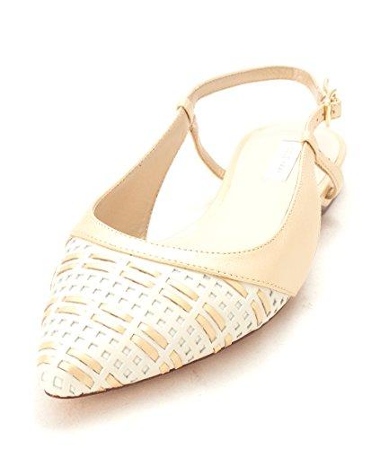 Pointed Slingback Womens Cole Toe 14A4071 Soft White Ivory Gold Slingback Flats Haan af4Tnxx6