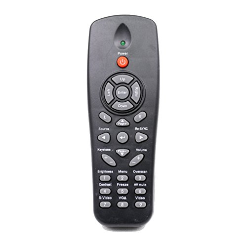 ESolid BR-3043N/BR-3047N Replacement Remote Control for Optoma Projector BR310 DAEWUSL DS211 DS216 DS216L DS219 DS312 DS316 DS316L DS317 DS322 DS323 DS325 DS326 DSV0502 DW312 DW318 DX319 and More by ESolid