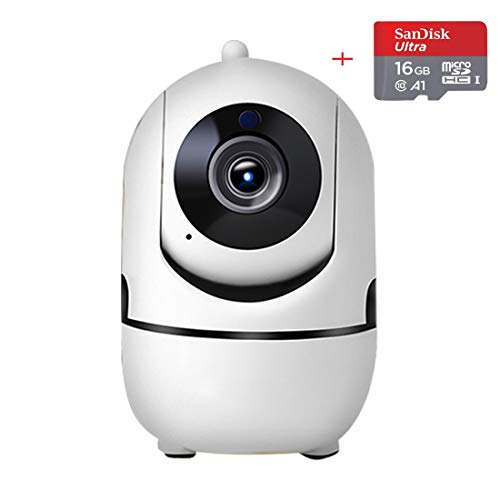 [Minions] Camera FHD 1080P Wireless IP Camera SDcard- Hansmart WiFi Home security Camera Pan/Tilt/Zoom indoor for Baby/Pet/Nanny Monitor with Night Vision, Motion Tracker,Sound Detection,Auto-Cruise.