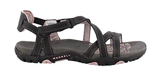 Leather Merrell schwarz 2018 Women Rose Sandspur Dusty Olive Sandals Schuhe lila fqx67ZwEq