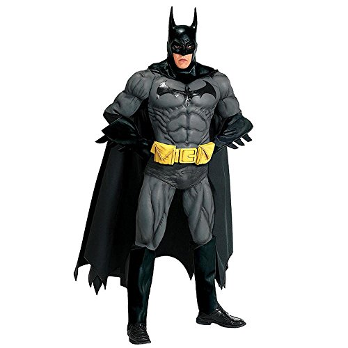 Adult Edition Batman Costumes Collectors (Warner Bros. Men's Batman Collector' Edition Costume)