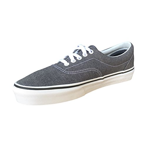 Era Skate Outsole Shoes in Classic Blk Waffle Style and Original Low Stitched Top Double Lace Canvas Micro Durable Tw Herringbone Unisex up Vans xwUptqw5