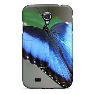 ThPsz17406UtlgE Case Cover Blue Butterflie Galaxy S4 Protective Case