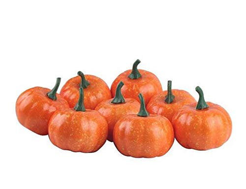 new Express$ 16pcs/Pack Mini Foam Pumpkin for Thanksgiving Fall Halloween Table Decor Vase Filler ()