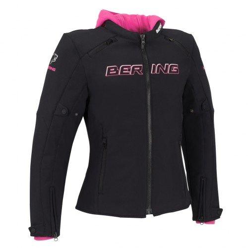 Bering Motorcycle jackets LADY JAAP EVO Black//Fuschia
