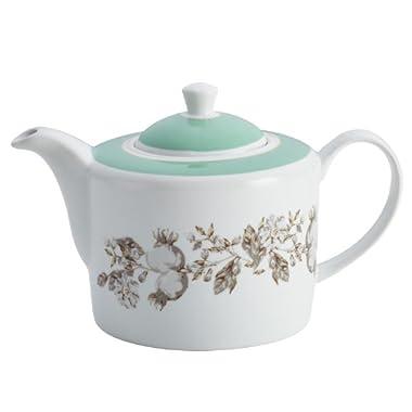 BonJour Dinnerware Fruitful Nectar Porcelain Teapot