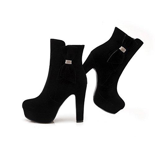 1TO9 - Stivali chelsea donna, nero (Black), 35 EU