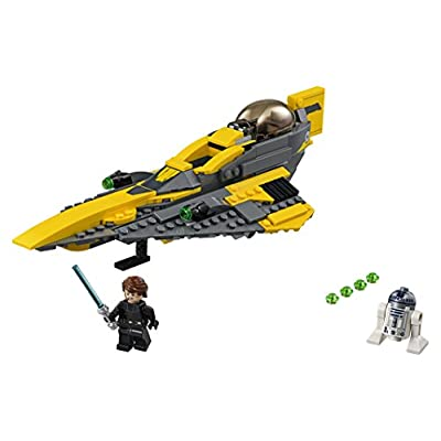 LEGO Star Wars: The Clone Wars Anakin's Jedi Starfighter 75214 Building Kit (247 Pieces): Toys & Games