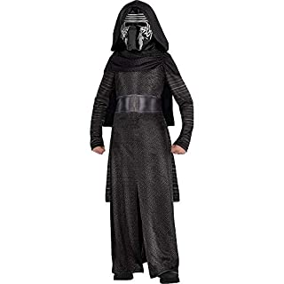 Costumes USA Star Wars 7: The Force Awakens Kylo Ren Costume Classic for Boys, Size Medium, Includes a Robe and a Mask