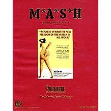 M*A*S*H Original Movie Script (The Movie Script Library)