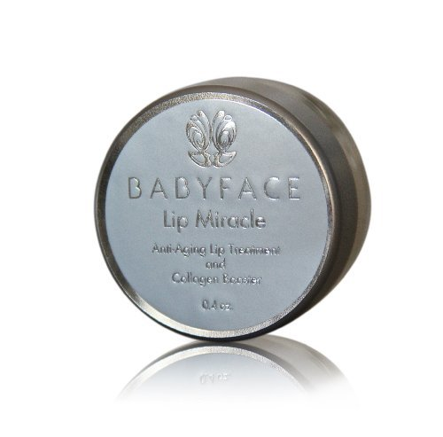 Babyface MIRACLE LIP (Mmmmm Strawberry! Flavor) Anti-Aging Hydrating Peptide Lip Treatment for Wrinkles & Lip Lines, Matrixyl 3000, Amino Acids, Stem (Cellular Wrinkle Treatment)