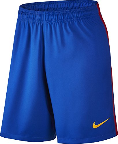 Nike Barcelona Home Soccer Shorts 2016/2017 (X-Large) Blue
