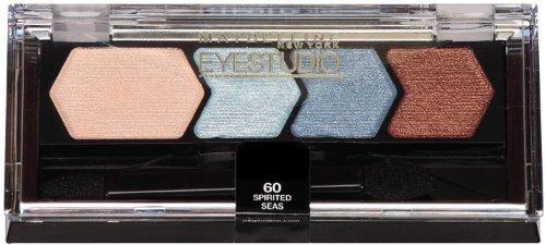 Maybelline Eye Studio Color Plush Silk -60 Spirited Seas Eyeshadow, 0.09 Oz (Pack of 2) ()