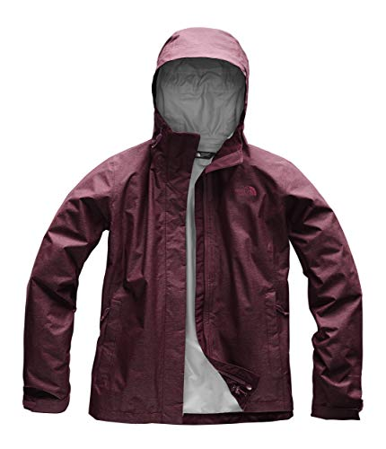 Waterproof Breathable Jacket Womens (The North Face Women's Venture 2 Jacket - Fig Heather - S)