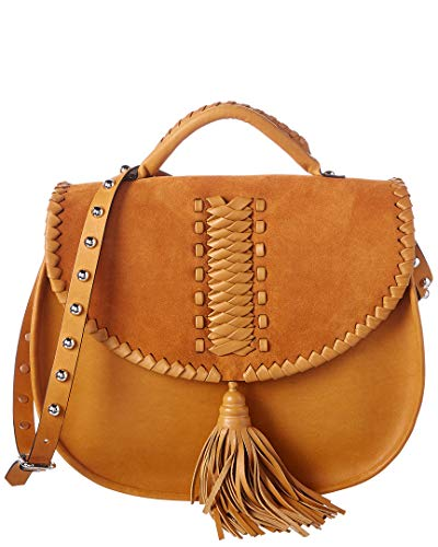Red Saddle Bag Valentino Leather Brown rqHnwrETz