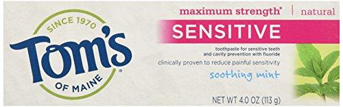 Tom's Of Maine Natural Maximum Strength Sensitive...