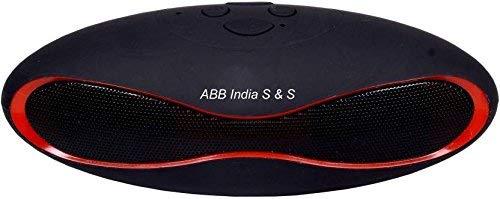ABB LM BT11FM Portable Bluetooth Mobile/Tablet Speaker  Black