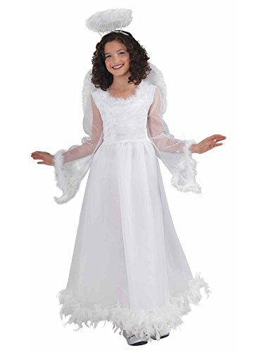 [Forum Novelties Fluttery Angel Child's Costume, Large] (Girl Angel Costumes)