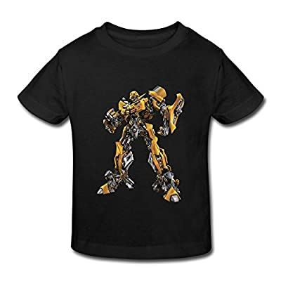 RenHe Toddler Geek Transformers Bumblebee T-shirts