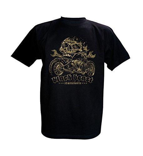 King Kerosin/Skullsports T-Shirt Black Beast