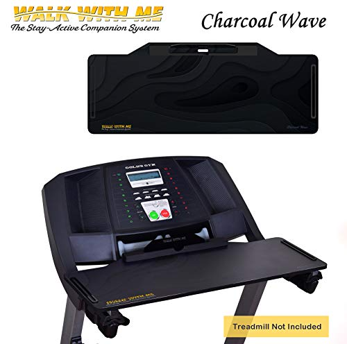 DigitalArts.ws Classic Plus Walk with Me - Detachable Treadmill Desk (Charcoal Wave) (The Best Laptop For Me)