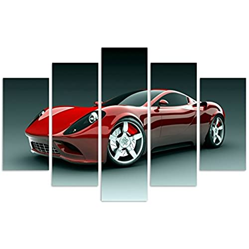 Wall Art Framed Pictures Cars: Amazon.com