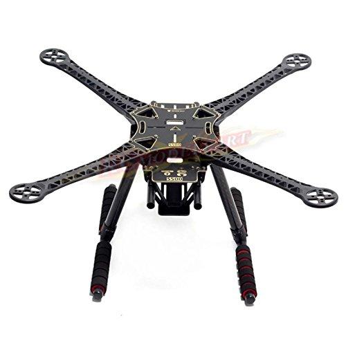 Hobbypower S500 Quadcopter Fuselage Frame Kit PCB Version w/ Carbon Fiber Landing Gear Skid