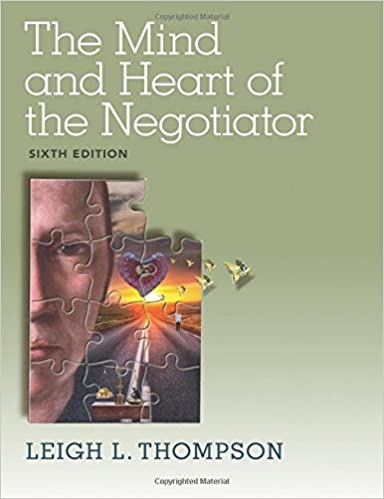 Amazon Com The Mind And Heart Of The Negotiator 6th Edition