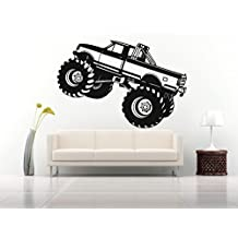 NEW Decals Monster Truck for Wall Jam Home Office Vinyl Stickers Mural M0309