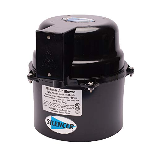Air Supply Silencer Blower Motor 2.0HP 240V 4.5 -