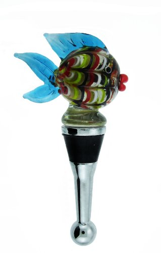 Colorful Tropical Fish Design Wine Stopper (Multi Color) #68
