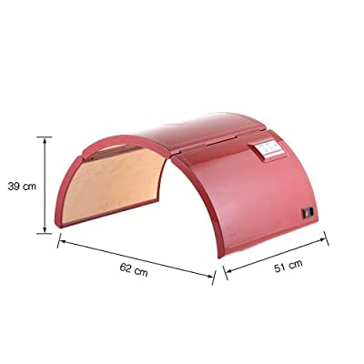 Crystal Ray KOREA Sauna Dome Home Room Energy Original Portable Foldable Foldible Patented Design Far Infrared Home Salon Use Carrying Bag Low Power Consumption Low EMF Lasse