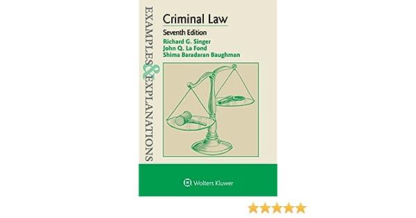 Criminal Law & Procedure: General Background