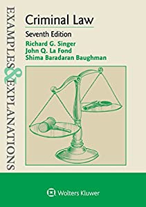 Examples & Explanations for Criminal Law (Examples & Explanations Series)