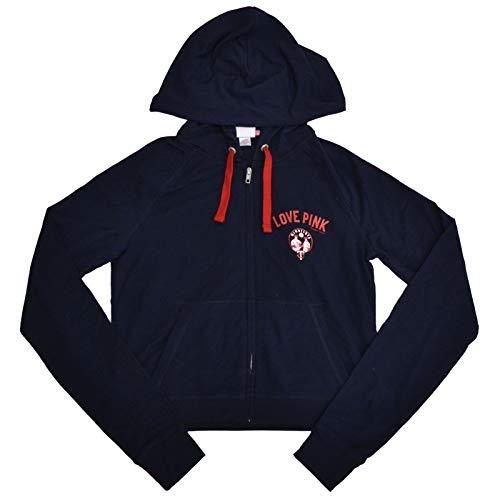 Victoria's Secret Pink MLB Baseball Zip Up Hoodie (L, Minnesota Twins)
