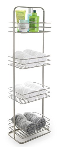 BINO 'Monaco' Rust-Resistant 4-Tier Spa Tower, Nickel by BINO