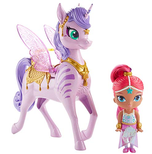 Fisher-Price Nickelodeon Shimmer & Shine, Magical Flying Zahracorn - Shimmer -