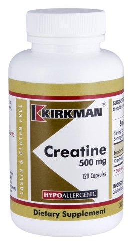 Cheap Kirkman Creatine 500 mg – Hypoallergenic || 120 Vegetarian Capsules || Amino Acid || Capsules are plant based || Tested for more than 950 environmental contaminants.