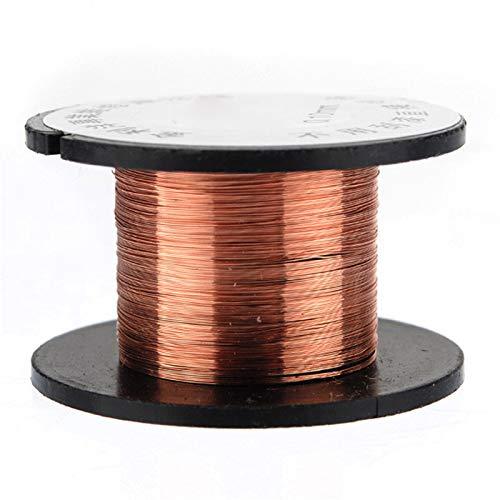 10 PCS 0.1MM Copper Soldering Solder PPA Enamelled Repair Reel Wire