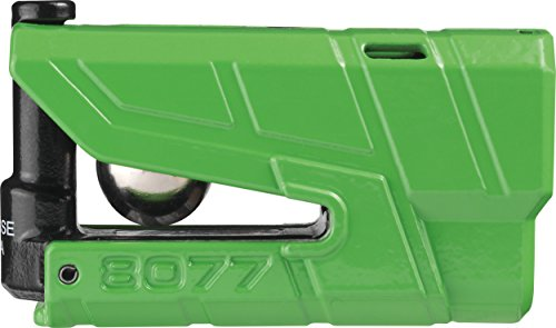 Abus Granit Detecto X-Plus 8077 Alarm Disc Lock with 3D Position Detection, Security Level 18, Colour: Green by ABUS