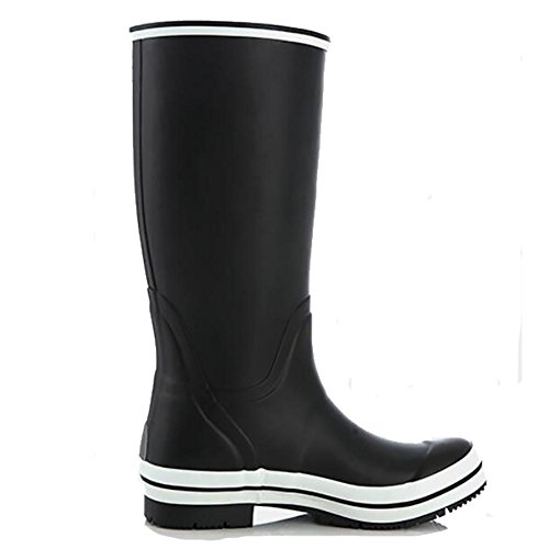 Rain Boots Damen Naturkautschuk Hohe Schlauch Wasserdicht Anti - Skid Pfützen Mädchen Gummistiefel 2