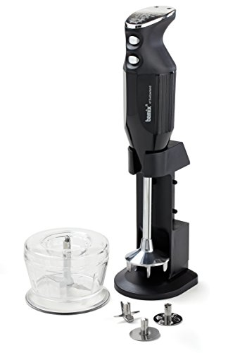 Bamix Deluxe M150 - 150 Watt 2 Speed 3 Blade Immersion Hand Blender with Dry Grinder and Table Stand by Bamix (Image #5)