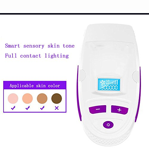 GWJ Permanent Hair Removal Beauty Device,Ipl Hair Remover System For Men And Women Home Use,IPL Epilator,Speed-Up Version,M