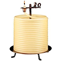 Candle by the Hour 144-Hour Candle, Eco-friendly Natural Beeswax with Cotton Wick by Candle by the Hour
