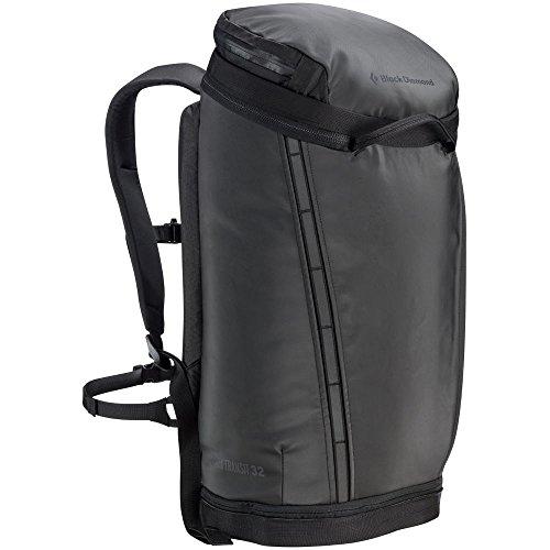 Black Diamond Creek Transit 32 Pack, Black One Size (Basic Chalk Bag)